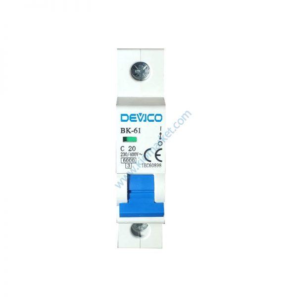کلید مینیاتوری 20 آمپر DEVICO