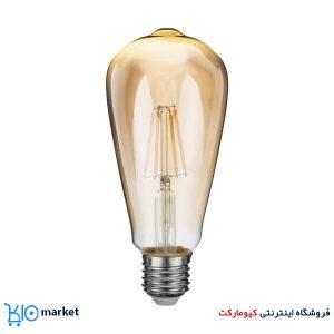 لامپ ال ای دی فیلامنتی 4 وات حبابی افراتاب سرپیچ E27